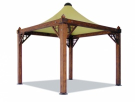 Gazebo Airone Basic / Quadro / Corallo copia